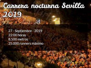 carrera nocturna sevilla 2019