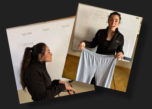 Personal trainer Sevilla sobre perdida de peso y posturas