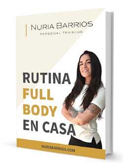 Rutina full body para casa desde Nuria Barrios El mejor personal trainer de sevilla